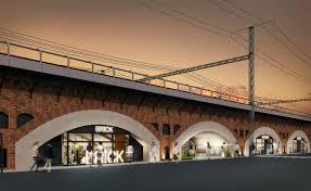 有楽町駅~新橋駅間の煉瓦アーチ高架橋に 新しい商業施設「日比谷 ...