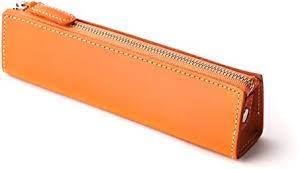 Amazon | (SLIP-ON)スリップオン BT ファスナーペンケースM カラー オレンジ | ペンケース | 文房具・オフィス用品